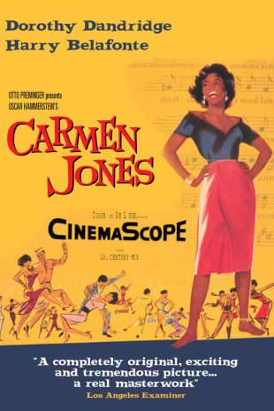 movie poster for Carmen Jones