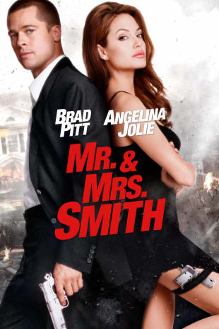 movie poster for Mr. & Mrs. Smith