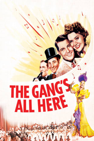 movie poster for The Gang's All Here