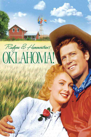 movie poster for Oklahoma!