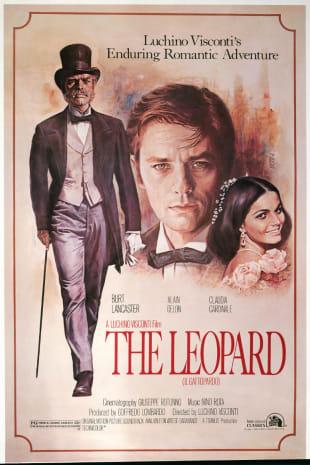 movie poster for The Leopard (Gattopardo, Il)