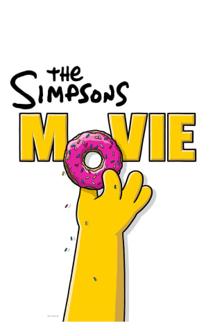 movie poster for The Simpsons Movie