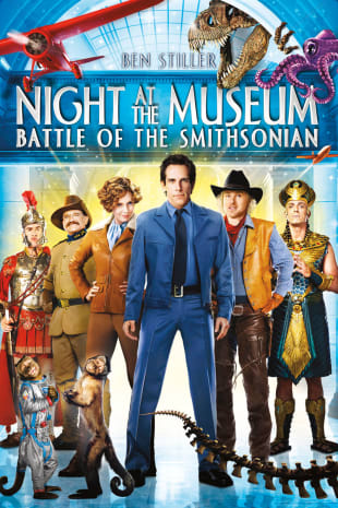 movie poster for Night At The Museum: Battle Smithsonian