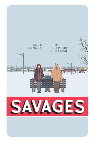 movie poster for The Savages