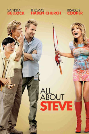 movie poster for All About Steve