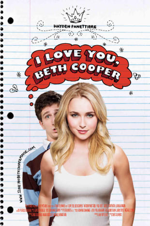 movie poster for I Love You, Beth Cooper