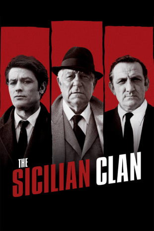 movie poster for The Sicilian Clan