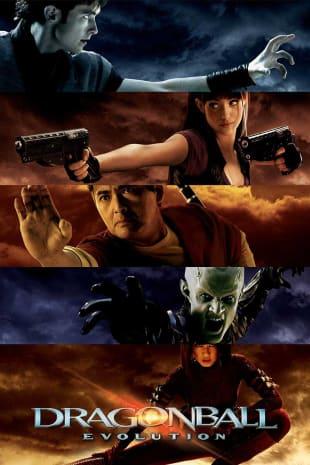 movie poster for Dragonball Evolution