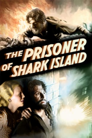 movie poster for The Prisoner Of Shark Island
