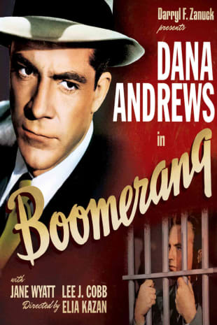 movie poster for Boomerang! (1947)