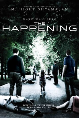 movie poster for The Happening