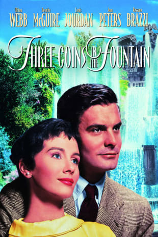 movie poster for Three Coins In The Fountain