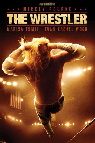 movie poster for The Wrestler