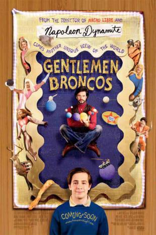movie poster for Gentlemen Broncos