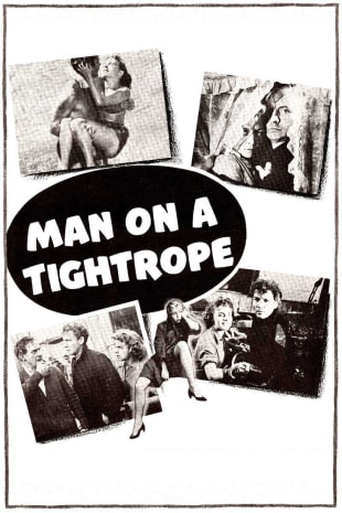 movie poster for Man On A Tightrope