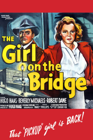 movie poster for The Girl on the Bridge (1951)