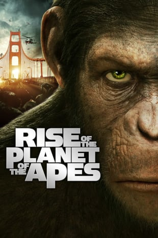 movie poster for Rise of the Planet of the Apes