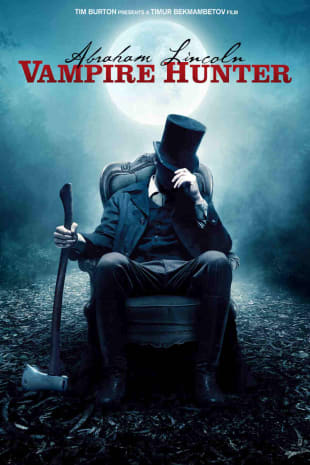 movie poster for Abraham Lincoln: Vampire Hunter