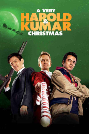 movie poster for A Very Harold & Kumar Christmas