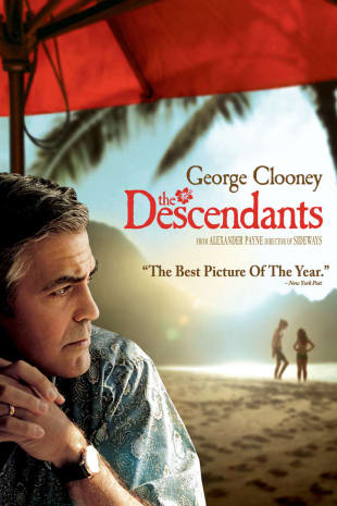movie poster for The Descendants