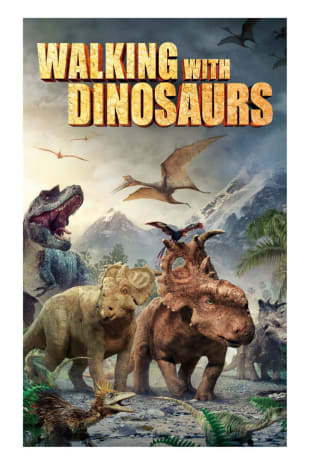 movie poster for Walking With Dinosaurs