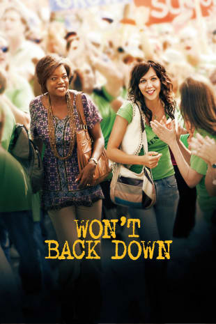 movie poster for Won't Back Down