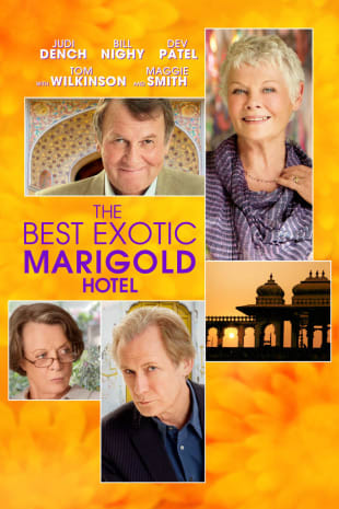 movie poster for The Best Exotic Marigold Hotel
