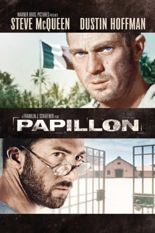 movie poster for Papillon