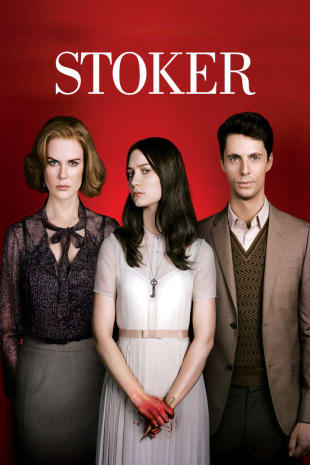 movie poster for Stoker