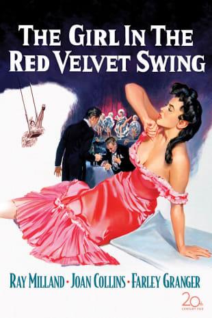 movie poster for The Girl in the Red Velvet Swing