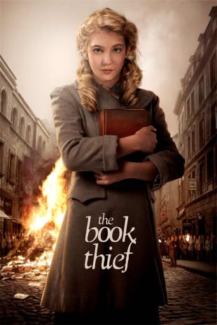 movie poster for The Book Thief