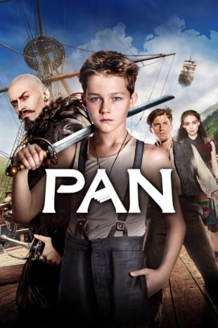 movie poster for Pan