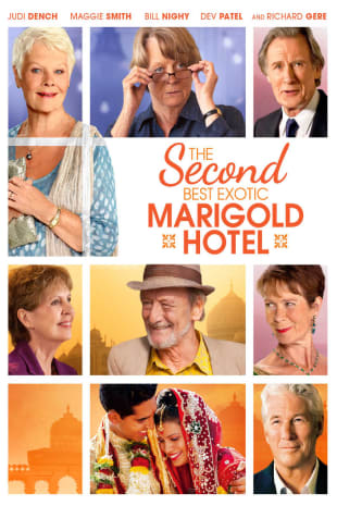movie poster for The Second Best Exotic Marigold Hotel