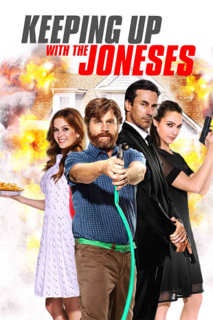 movie poster for Keeping Up With The Joneses