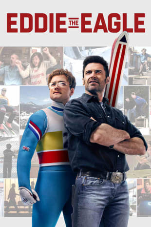 movie poster for Eddie The Eagle
