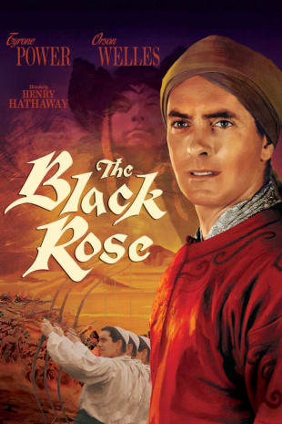 movie poster for The Black Rose (1950)