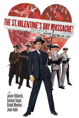 movie poster for The St. Valentine's Day Massacre