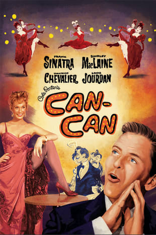 movie poster for Can-Can