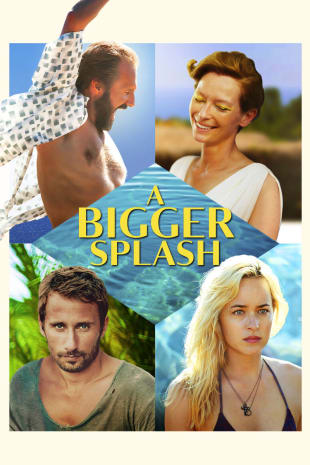 movie poster for A Bigger Splash