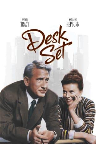 movie poster for Desk Set