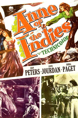 movie poster for Anne of the Indies