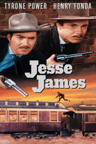 movie poster for Jesse James (1939)