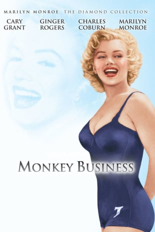 movie poster for Monkey Business (1952)