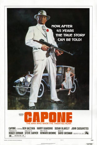 movie poster for Capone (1975)