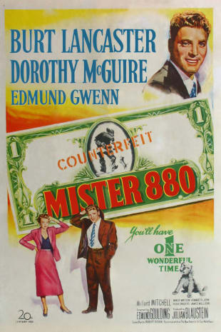 movie poster for Mister 880 (1950)