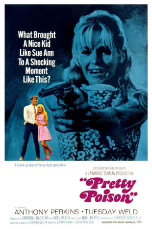 movie poster for Pretty Poison