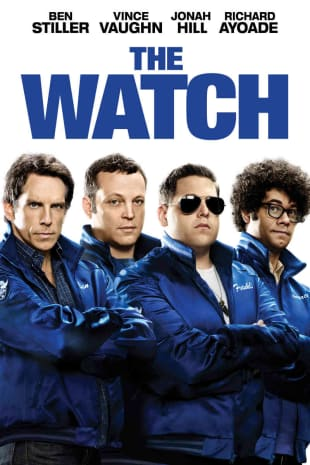 movie poster for The Watch
