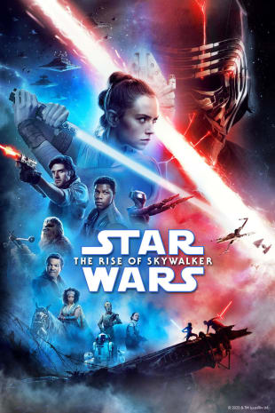 movie poster for Star Wars: The Rise of Skywalker