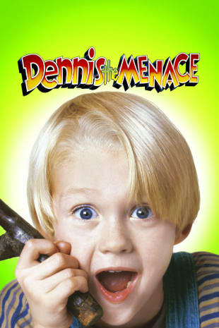 movie poster for Dennis the Menace