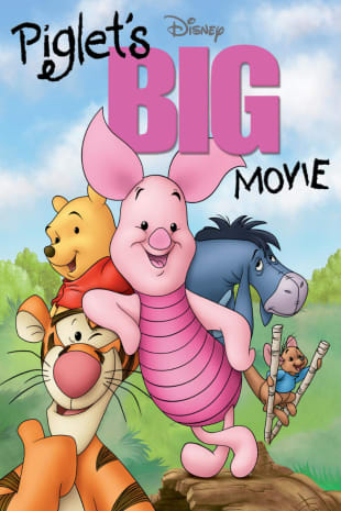 movie poster for Piglet's Big Movie